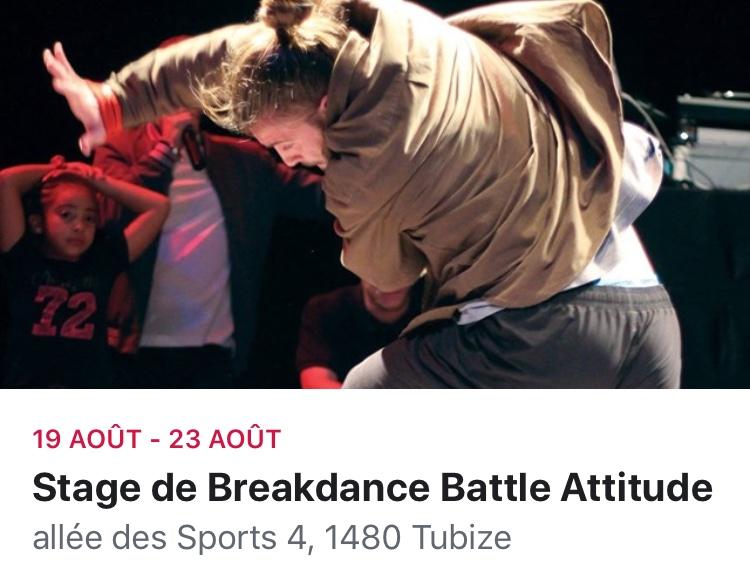 Stage battle attitude
